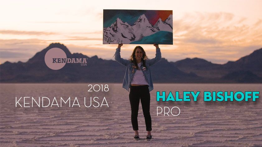 Haley Bishoff First Girl Pro Kendama Player