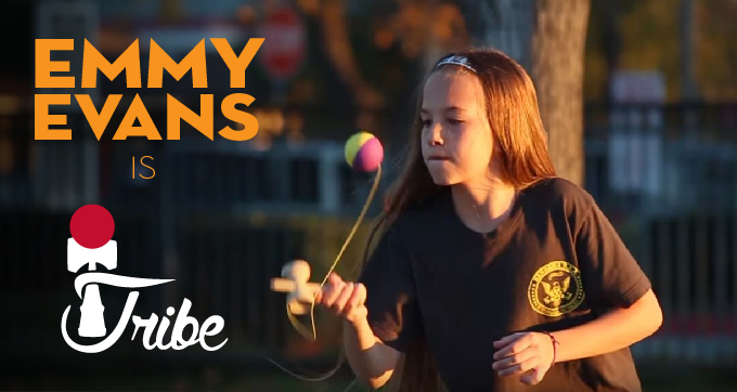 Kendama USA Presents Emmy Evans - Tribe Team Announcement