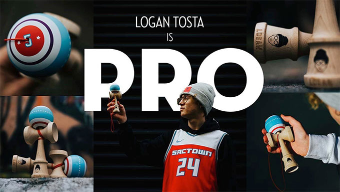 Logan Tosta is a Kendama USA Pro