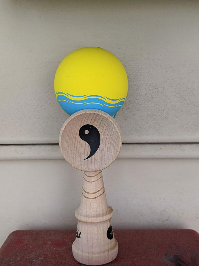 Nobu Nori Pro Model Kendama Big Cup