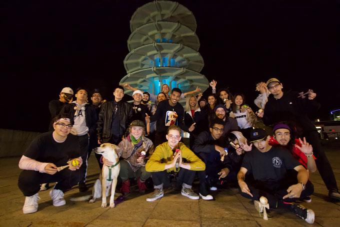 Kendama USA - KG Jam CA Japanville Peace Pagoda