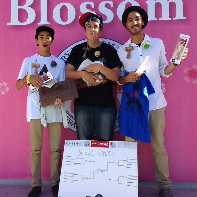 Kendama USA - 2015 Sakura Classic - Tournament Winners